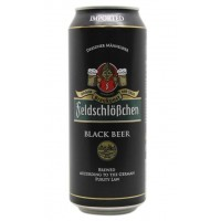 Пиво FeldschloBchen BLACK BEER ж/б 0,5л