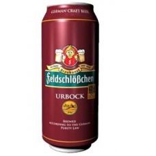 Пиво FeldschloBchen URBOCK ж/б 0,5л