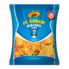 Чіпси EL SABOR NACHO Salted Gluten free 225 гр.