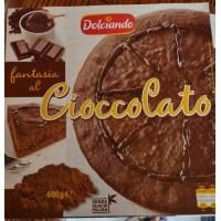 Торт  Фантазія dolciando fantasia al Cioccolato 600г