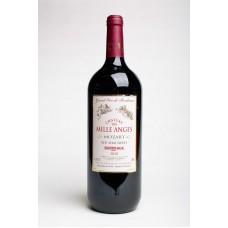Вино Червоне напів солодке Bourdeux Des Mille Anges Red 12% 1.5L