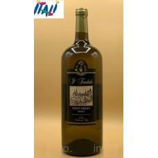 Вино белое сухое  Pinot Grigio  il feudale  1.5 л