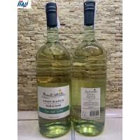 Белое сухое  Poletti Pinot Bianco Rubicone 1,5 л