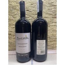 Вино красное сухое SANGIOVESE ROMAGNA Casa degli olmi 1.5 л