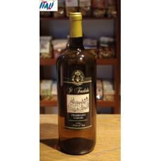 Вино белое сухое  Trebbiano d`Abruzzo  il feudale  1.5 л