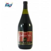 Вино червоне ігристе VINORO LAMBRUSCO ROSSO 1,5л