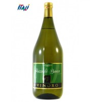 Вино біле ігристе VINORO FRIZZANTE BIANCO 1,5л