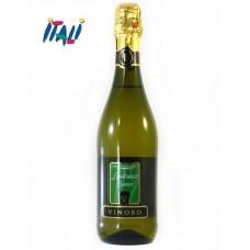 Вино біле сухе ігристе VINORO LAMBRUSCO BIANCO 0,75л