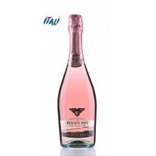Игристое розовое полусладкое Moscato Rose Novellina (Москато Розе) 0,75L