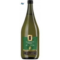 Вино игристое белое Ламбруско Cavaleria Lambrusco Emilia Bianco Amabile 1.5L