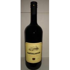 Вино сухое красное CASTELLACCIO Vino Rosso 11%, 1.5л
