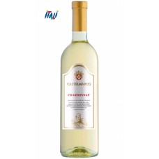 Вино белое сухое Chardonnay Terre Siciliane Castelmarco  0.75 l