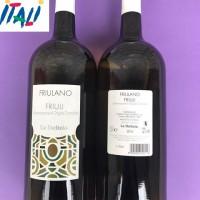 Вино  белое сухое   Friulano Friuli la delizia 1,5 L