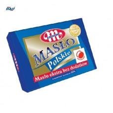 Масло сливочное Mlekovita Maslo 82% Polskie 200г (Польша)