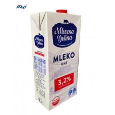 Молоко Польське Mleczna Dolina 3,2% в коробці 1 л