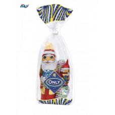 НР Фігурка з молочного шоколаду Santa Clauses MIX, 100г