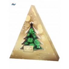 НР Цукерки Maitre Truffout, Різдвяна ялинка, праліне, з м'ятним кремом, 148г