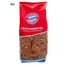 Хрустики FC Bayern Munich Mini pretzel солені 300г
