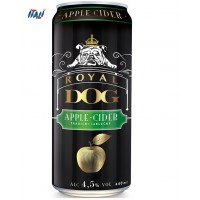 """Сидр """"Royal Dog"""" Apple Cider, in can, 0.44 л"""