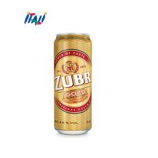 """ПИВО СВІТЛЕ """"Zubr"""" Gold, 0.5 л"""
