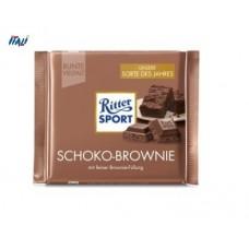 Молочный шоколад  Ritter Sport Choco Brownie 100 г