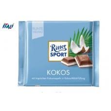 Молочный шоколад Ritter Sport Kokos, 100г