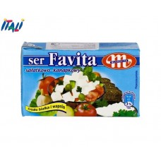 Сир Фета Favita Mlekovita 18% жирності, 270 р. (Польща)