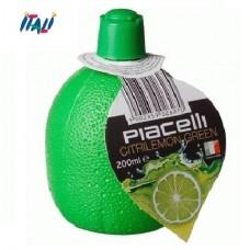 Сок лайма концентрированный, Piacelli Citrilemon Green, 0,2л