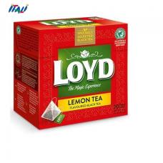 Чай чорний Black lemon tea зі смаком лимона, 34г (20пак.)