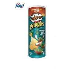 Чіпси Pringles Sea Salt & Herbs, морська сіль і трави, 165г