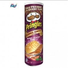 Чіпси Pringles Dinner Party Honey Glazed Ham Flavour ,зі смаком бекону в медовій глазурі , 200г