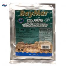 Тунець в олії BayMar ATUN TROZOS BOLSA 500 г (пакет)