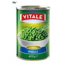 Горошок консервований VITALE Piselli  400г