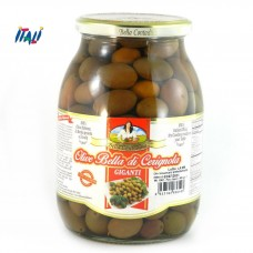 ОЛИВКИ ЗЕЛЕНЫЕ   Oliva Bella di Cerignola 0.6 кг