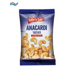 Орешки Кешью snack fun anacardi tostati e salati 150g