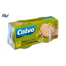Рибний паштет CALVO WITH OLIVES  2х75 г