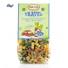 Макарони DALLA COSTA Travel Pasta з томатом і шпинатом 250 г