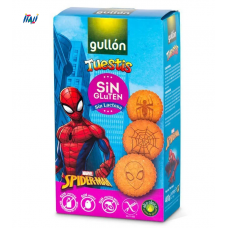 Печенье GULLON NEW Spiderman без глютена, 400г