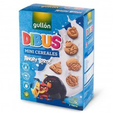 Печиво GULLON, NEW Dibus Angry Birds, mini cereale, 250г