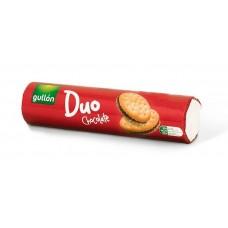 Печенье сэндвич без трансжиров Duo Chocolate с шоколадным кремом Gullon Испания 250 г