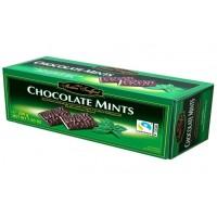 Цукерки Maitre Truffout, CHOCOLATE MINTS, з чорного шоколаду та м'ятою, 200г