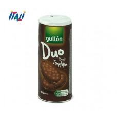 Печенье GULLON Duo сэндвич темный с шоколадным кремом, 165 г