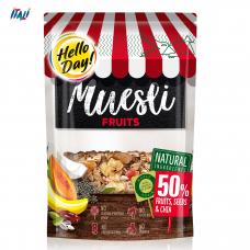 Мюслі AGUS Hello Day фрукти, горіхи та чіа 500 г