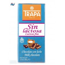 TRAPA шоколад, Sin Lactosa , молочний без лактозы , 100 г