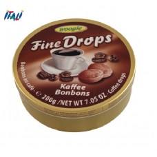 Леденцы Fine Drops Woogie со вкусом кофе, 200г