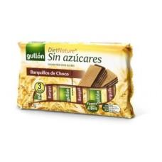 Вафлі GULLON Diet Nature шоколадні БЕЗ ЦУКРУ, 210г