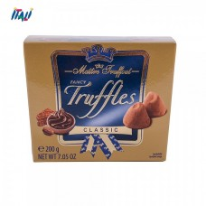 Шоколадные трюфели Maitre Truffout Fancy Truffles Classic, 200 гр.