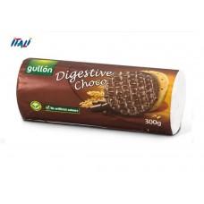 Печенье в шоколаде Gullon Digestive Choco 300 г
