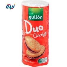Печенье GULLON Duo, сэндвич с шоколадным кремом, 145 г