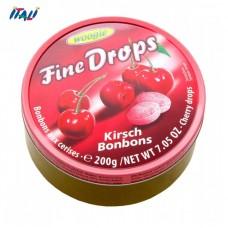 Леденцы Fine Drops Woogie со вкусом вишни, 200г